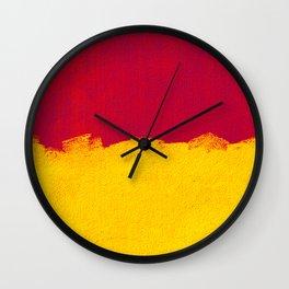 A Swiss street wall Wall Clock