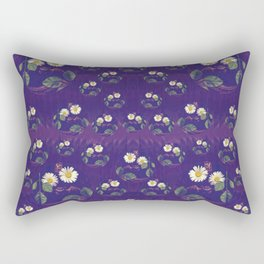Sweet Gargoyles in bat caves ornate Rectangular Pillow