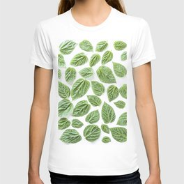 Leaves pattern (28) T-shirt