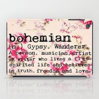 bohemian iPad Cases featuring Bohemian by Luxe Glam Decor