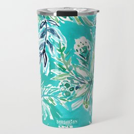 KAILUA CHILL Tropical Hawaiian Floral Travel Mug