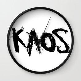 KAOS. Wall Clock
