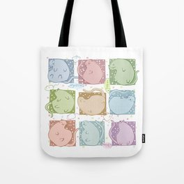 Blobby Cats Tote Bag