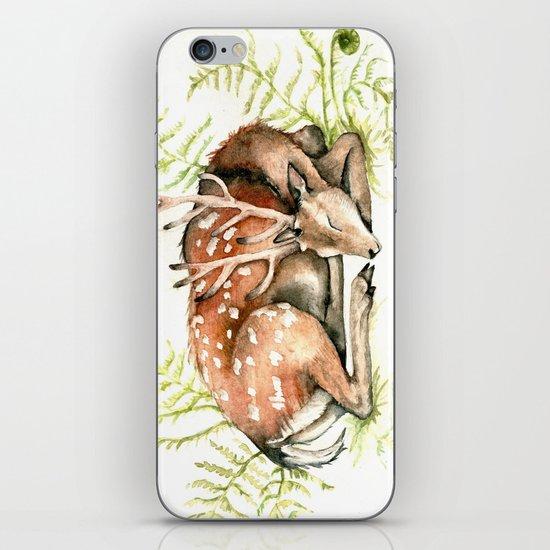 Sleeping Deer iPhone & iPod Skin