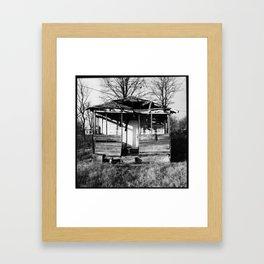 Abandoned House, Lamont, Mississippi Framed Art Print