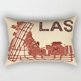 LAS Airport LAS Rectangular Pillow