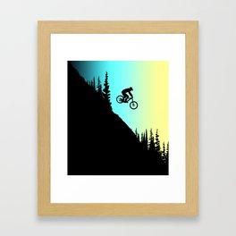 MTB Colors Framed Art Print