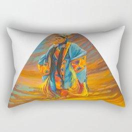 Sky Dance Rectangular Pillow