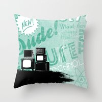revolution Throw Pillows featuring Revolution by ColbyGreen