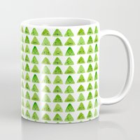 mountain Mugs featuring Mountain by Young Ju