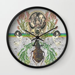 two became one Wall Clock