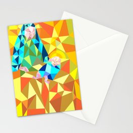 The Manger III Stationery Cards