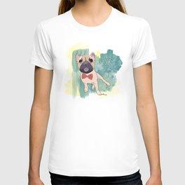 Frenchie Art. Bruno. T-shirt