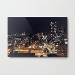 New York City Skyline II Metal Print