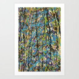 Forest Inner Trail Art Print