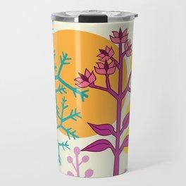 Ibiza flowers 2 Travel Mug