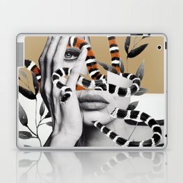 Woman and snakes Laptop & iPad Skin