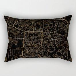Chiang Mai map, Thailand Rectangular Pillow