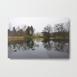 Copenhagen Botanical Gardens Metal Print