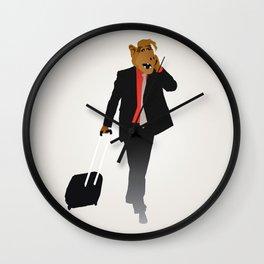 Industrious Alf Wall Clock