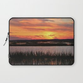 Sky Over The Marsh Laptop Sleeve