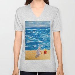 Beach Memories Unisex V-Neck