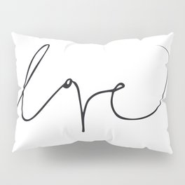 LOVE NO3 Pillow Sham