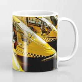 Yellow Taxi Boats Coffee Mug