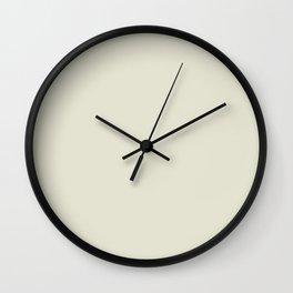 LUNA pale pastel solid color Wall Clock