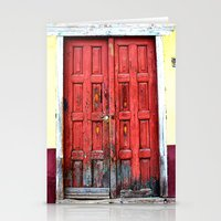 door Stationery Cards featuring door by Baptiste Riethmann