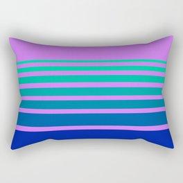 Lavender and Blue Horizon Rectangular Pillow