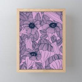 Wild Garden VI Framed Mini Art Print