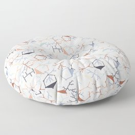Chaotic Particle Physics on White Floor Pillow