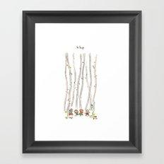 Le Loup Framed Art Print