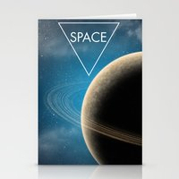 planet Stationery Cards featuring Planet by Natalie Reed