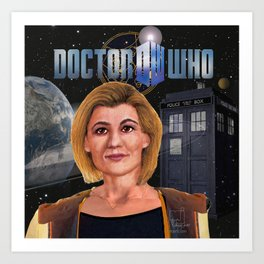 13th Doctor poster Art Print