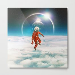 Floater Metal Print