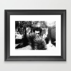 Hidden Man Framed Art Print