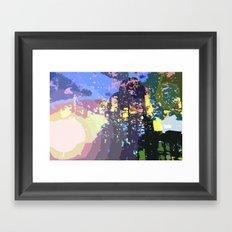 Future City Framed Art Print