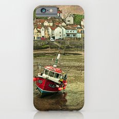 Three Red Boats at Staithes Slim Case iPhone 6s