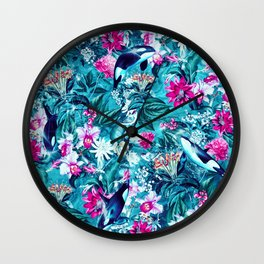 Killer Whales Wall Clock