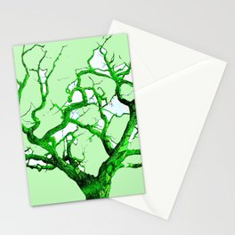 Pastel Tree in Spring Stationery Cards