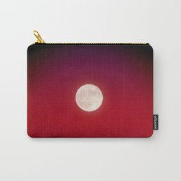 The Moon In Red Carry-All Pouch