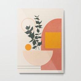 Geometric Modern Art 42 Metal Print