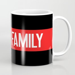 Firefighter: Proud Family (Thin Red Line) Coffee Mug