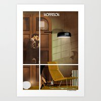babina Art Prints featuring 028_archidesign_jasper morrison by federico babina