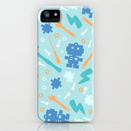 Young Pastel Engineer iPhone Case