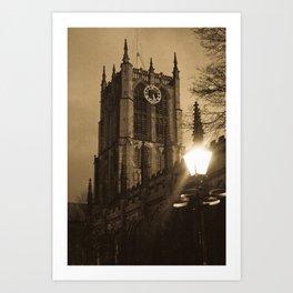 Trinity Church Hull Art Print