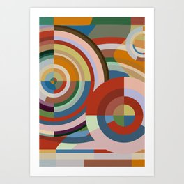 Colour Revolution TWO Art Print