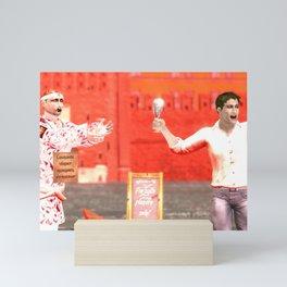 SquaRed: Champagne Mini Art Print